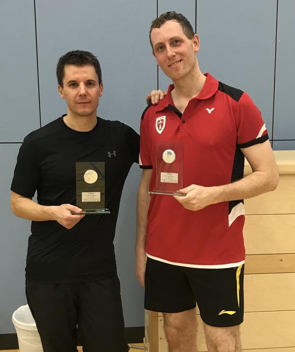 Daniel Spudic und Martin Hoech v.l. Sieger
