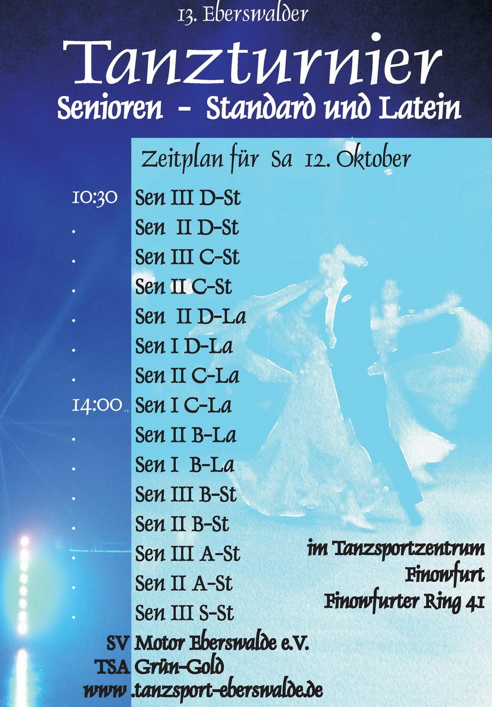 2019 10 12 Seniorenturnier Flyer Abt. Tanzsport1
