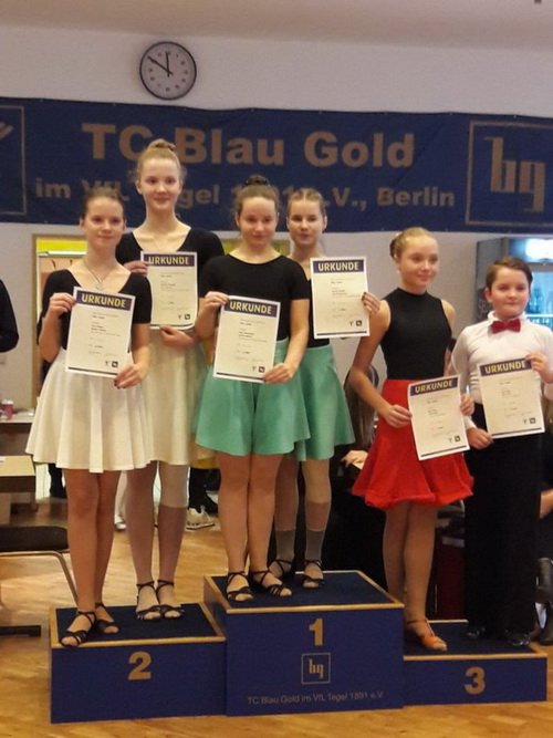 2019 12 27 Green Golden Girlies auch in Berlin erfolgreich 003