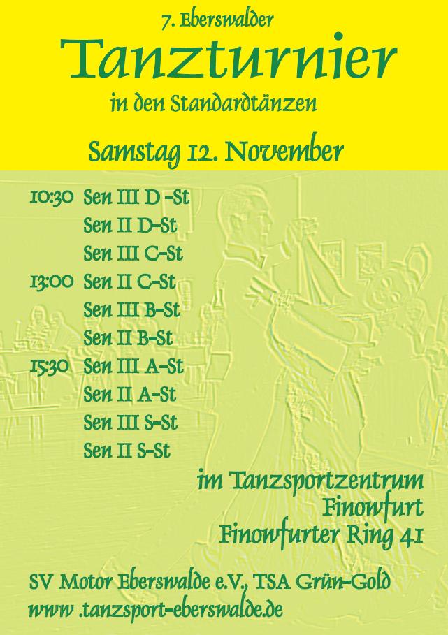 7 Eberswalder Tanzturnier Plakat 01