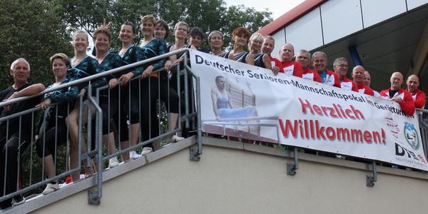 1 Alle Aktiven des MTB beim Deutschlandpokal der Senioren in Waltershausen