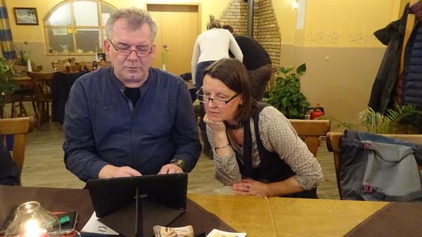 2 Rudi Trautmann Brainstorming von Olaf Tank und Dagmar Rühl