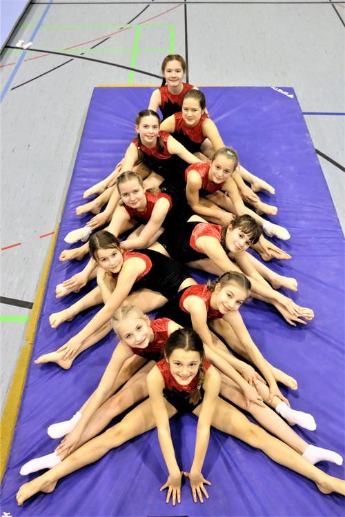 2 Sylvia Ehlers Die beiden siegreichen LK4 und LK3 Mannschaften