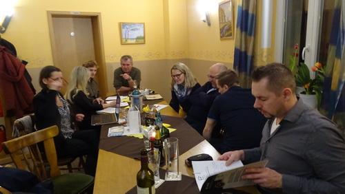 2 Tini Trautmann Beim Brainstorming zum 44. ETT in Lichterfelde