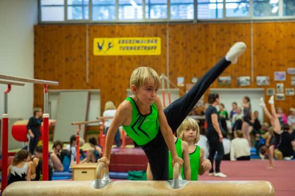 3 K. Muchow Julian Stenschke mit Bestleistung am Pauschenpferd