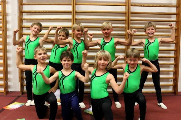 5 Sylvia Ehlers Wir sind die Stärksten Jungenteam der Abt. Turnen