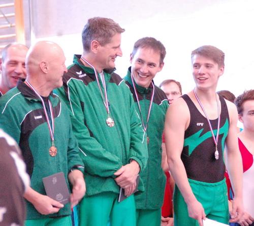 Das Bronzeteam 2016