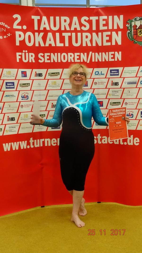 Die stolze Taurastein Pokalgewinnerin 2017 Tini Trautmann 2