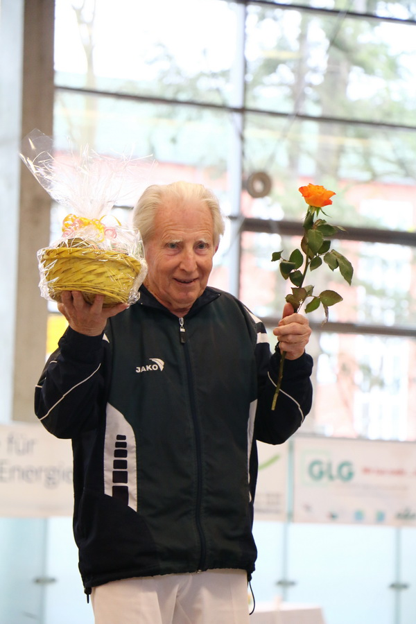 Dr. Rudolf Radecke ältester Starter beim 42. ETT