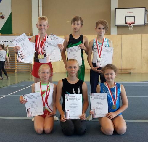 Finalisten der Landesmeisterschaften 2016