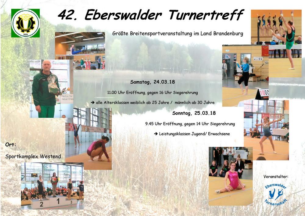 Plakat 42 Turnertreff