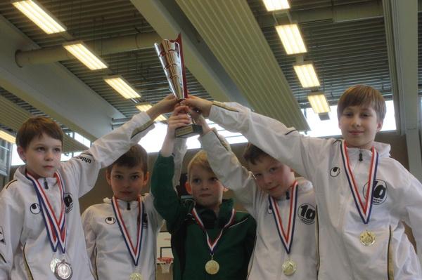 Siegerpokal der Jungen